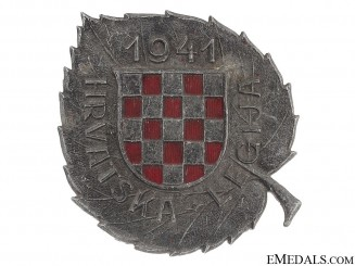 WWII Croatian Legion Award