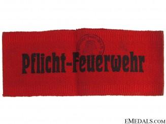 WWII Fire Brigade Armband