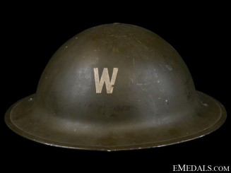 WWII Mark I Air Raid Precautionary (ARP) Warden's Helmet