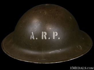 WWII Mark II Air Raid Precautionary (ARP) Helmet