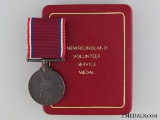 WWII Newfoundland Volunteer War Service Medal