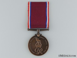 WWII Newfoundland Volunteer War Service Medal to the Royal Navy