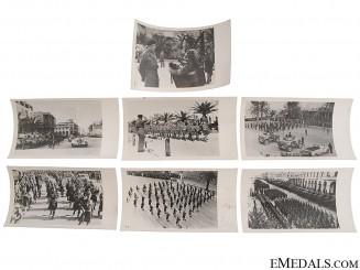Press Photos of Montgomery's Arrival in El Alamein