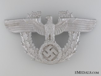 WWII Period German Police Shako Eagle
