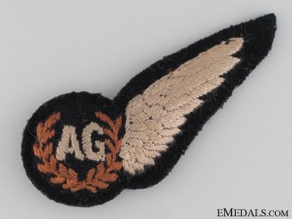 WWII Royal Air Force (RAF) Air Gunner Wing