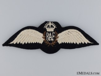 WWII Royal Air Force Pilots Wing