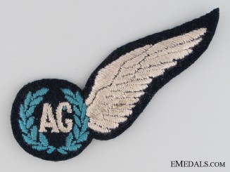 WWII Royal Australian Air Force Air Gunner Wing