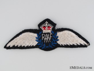 WWII Royal Australian Air Force Pilot Wings