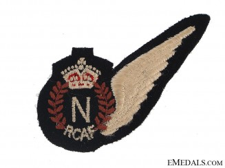 WWII Royal Canadian Air Force (RCAF) Navigator's (N) Wing