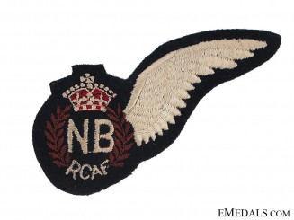 WWII Royal Canadian Air Force (RCAF) Navigator/Bombadier's (NB) Wing
