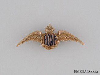 WWII Royal Canadian Air Force Sweetheart Wings