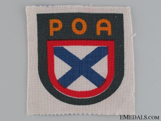 WWII Russian SS Volunteer Army POA