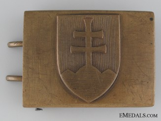 WWII Slovakian Army Belt Buckle