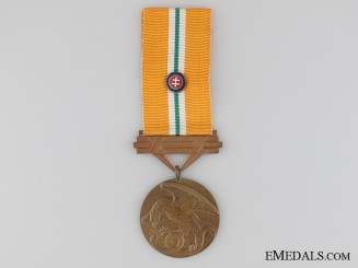 WWII Slovakian Medal of Bravery 1939