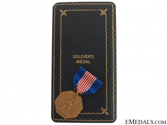 WWII Soldiers Medal For Valor