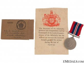 WWII War Medal 1939-1945
