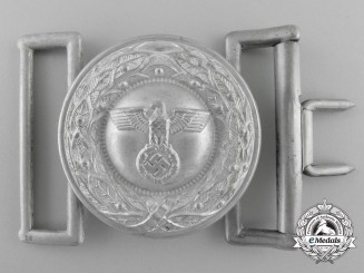 A German Justice Official's Belt Buckle, Type II by F.W. Assmann & Söhne; Published