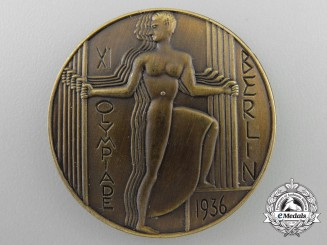 A 1936 XI Summer Olympic Games Berlin Medal