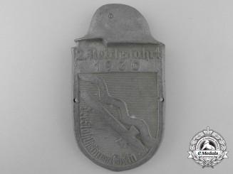 """A 1930 2.Reichsfahrt """"Steel Helmets"""" Der Stahlhelm Rhein Veteran's Badge"""