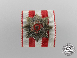 A Miniature Croatian Order of Merit for a Grand Cross; Moslem Version