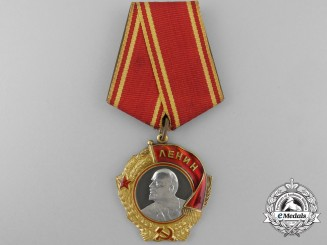 A Second War Period Soviet Order of Lenin in Gold & Platinum