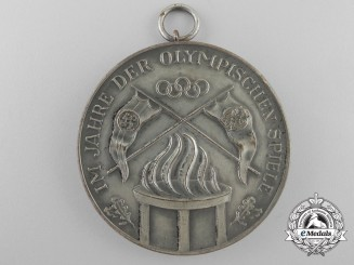 A 1936 German Cycling Federation District Champions Medal