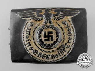 An Unusual SS NCO's/Enlisted Belt Buckle