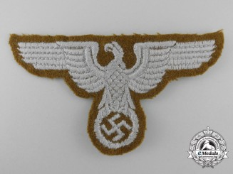 Germany, Eastern Territories. A Breast Eagle for Tunic for NCO's/Enlisted Rank