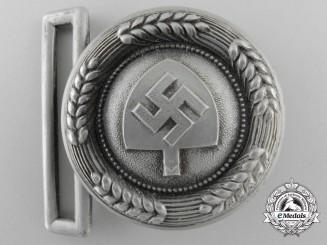 An RAD (Reichsarbeitsdienst) Officer's Belt Buckle by F.W. Assmann & Söhne