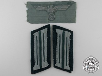 A Lot of German Army Cloth Insignia