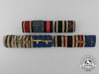 A Lot of German Ribbon Bars