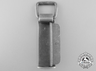 An Unusual Aluminum Self Securing Belt Loop by Schmölle & Co., Menden