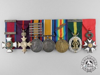 A Fine DSO OBE Group to Lieutenant-Colonel Sidney Stallard, King's Royal Rifle Regiment