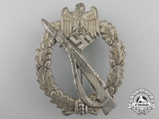 A Silver Grade Infantry Badge by Josef Feix Söhne