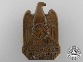 A 1933 NSDAP Nurnberg Badge