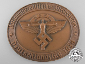 A 1938 National Socialist Flying Corps German Flight Award