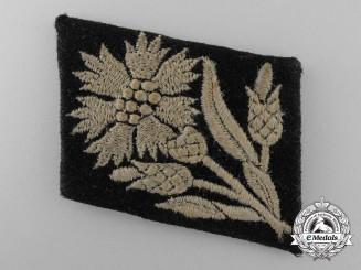 A Collar Tab of the 22nd Waffen-SS Freiwilligen Kavallerie