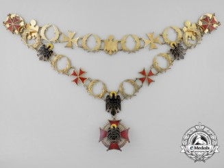 Spain, Franco Period. An Order of Cisneros, Grand Collar, c.1955