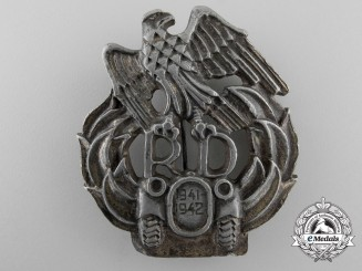 A Scarce Second War 1941/43 Slovakian Motorized Units Badge
