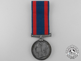 United Kingdom. A North West Canada Medal, No. 7 Company, York and Simcoe Provisional Battalion