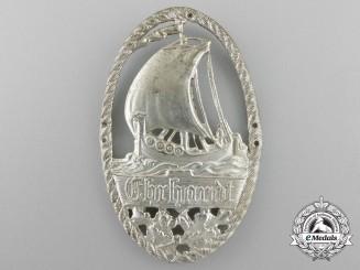 A Ehrhardt Brigade Sleeve Insignia (Freikorps); Small Version
