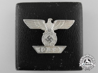 A Clasp to the Iron Cross 1939; First Class by Funcke & Brüninghaus; Published Example