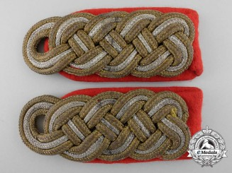 Germany. A Set of Generalmajor Shoulder Boards