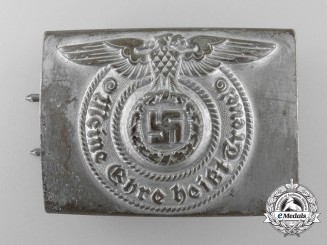 An SS EM/NCO's Belt Buckle by F.W. Assmann & Söhne