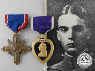 A Distinguished Service Cross & Purple Heart Group to Brigadier General Nathan Bedford Forrest III
