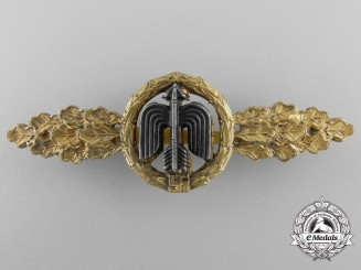 A Luftwaffe Gold Grade Short Range Day Fighter Flight Clasp