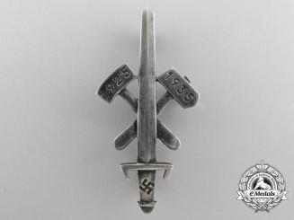A Scarce Gau Honor Badge Essen in Silver