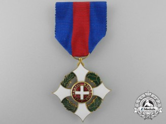 An Italian Military Order of Savoy; Knight
