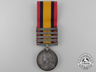 A Queen's South Africa Medal to the 2nd Special Service Battalion; Royal Canadian Regiment