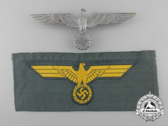 Two Kriegsmarine Breast Eagles
